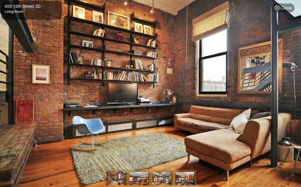 ブルックリンスタイルの部屋の写真