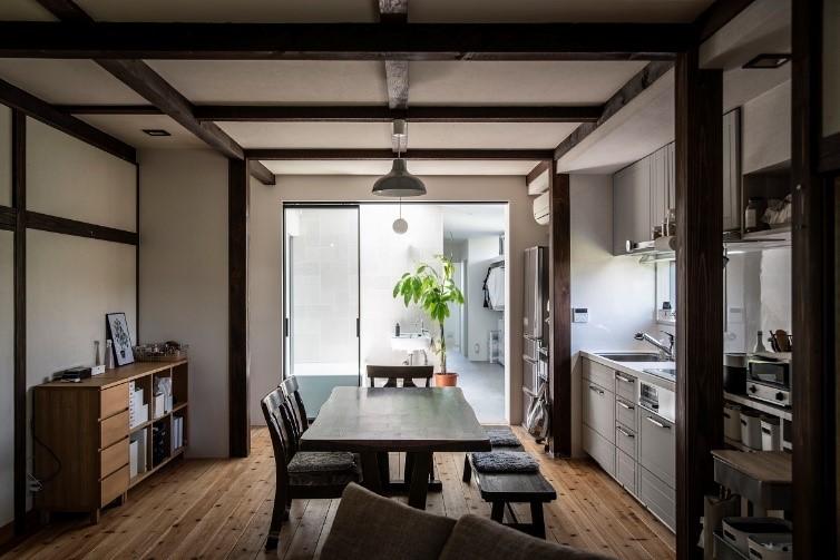 ファミリークローゼット、室内干しスペースのある機能的な住まい
