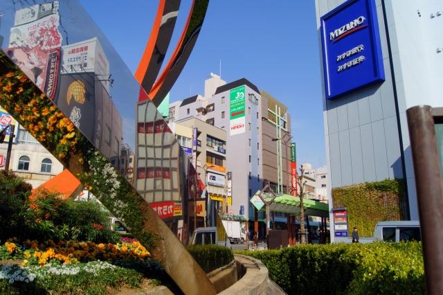 蒲田駅ロータリー