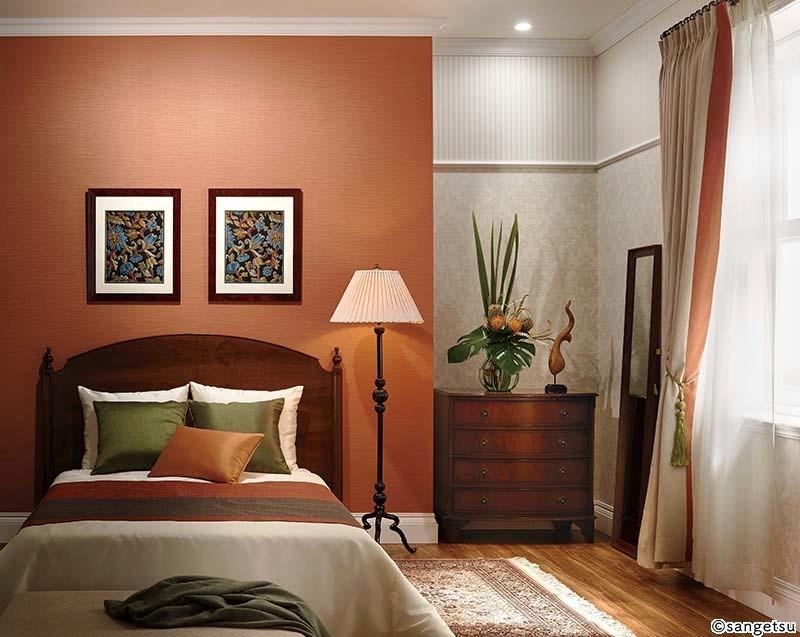 《赤・オレンジ》温かく安心した眠りを