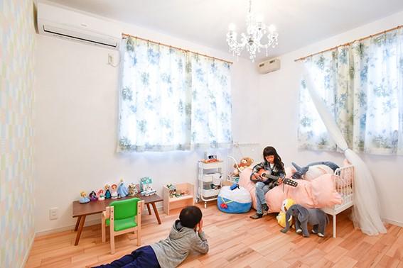 増築した子供部屋