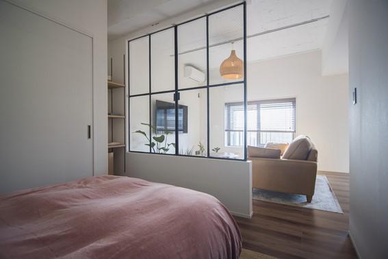 ヴィンテージな室内窓