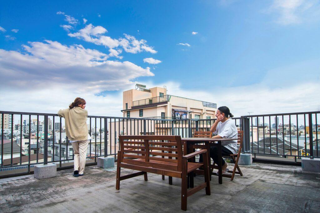 スカイツリーや隅田川の花火大会が見える、理想的な物件
