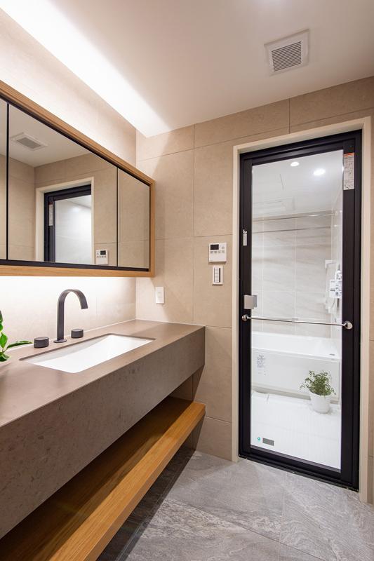 マノー乃木坂702洗面室